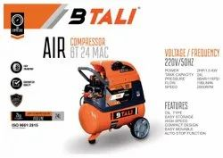 Air Compressors With Oil  24 Ltr