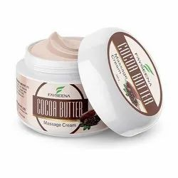 Coffee Anytime Fayseena Cocoabutter Massage Cream 100 g, Jar