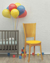 47 X 40 X 90 Centimeters Modern Supreme Iris Armless Chair
