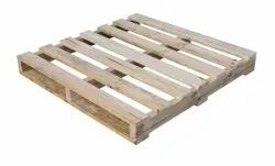Rectangular 2 Way COUNTRY WOOD PALLET, For Packaging, Capacity: 1000-1500 Kg