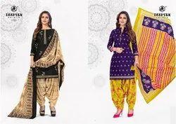 Deeptex Pickari Volume 17-cotton Dress Materials for Ladies Salwar Suits