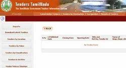Tamilnadu E-Tender Service
