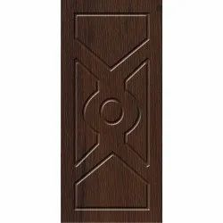 Brown Wooden Hinged Door, For Home,Office, Size/Dimension: 8x3 Feet (lxw)