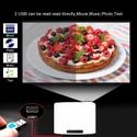 TS Android 9.0 2 32gb 3D 4k LED LCD DLP Smart Projector With High Pixel 1080p-2160p