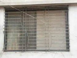 Outdoor Residential Iron Window Grill, Rectangular
