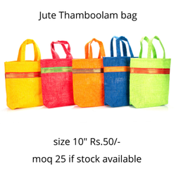 Jute Bags for wedding
