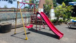 CODE: P-44 2 In 1 FRP Playground Equipment
