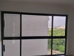 Exterior Stainless Steel Balcony Invisible Grill, For Home, Material Grade: SS316