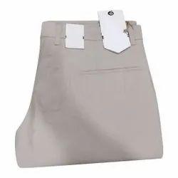 Regular Fit Men Plain Formal Pant, Handwash