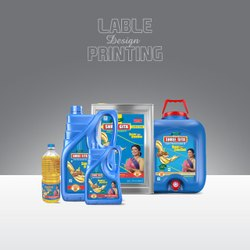 2D Label Designing Printing Service