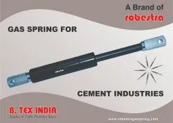 GAS SPRING FOR CEMENT INDUSTRY