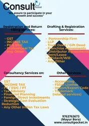 Consultancy Services on: Tax Advisory
