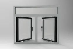 Polished Aluminium Casement Window, For Home