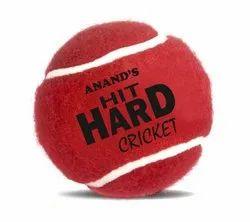 Hit Hard Cricket Tennis Ball (Mixed Weights)