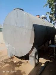 Horizontal Stainless Steel Tank