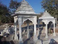 White Marble Stone Chatri
