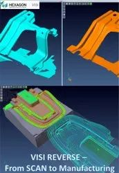 VISI Reverse : Reverse Engineering Software From 3D Scan To Manufacturing