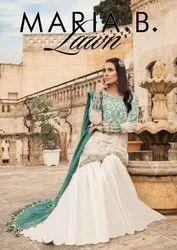Fairlady Maria B Lawn Jam Satin Digital Printed Pakistani Suit Catalog