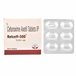 500mg Cefuroxime Axetil Tablets IP