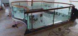 Tempered Glass Railing