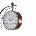 "Round Golden 8 "" Inch Vintage European Style Antique Station Wall Clock"