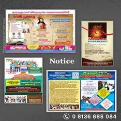 Notice Design And Printing Services