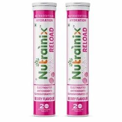 Nutrainix Reload Electrolytes Energy Drink and Instant Hydration Sports Drink