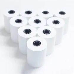 Jaival Plain Thermal Paper Pos Roll, For Commercial, GSM: Less than 80