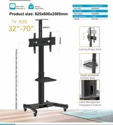 Tv Floor Stand Video Conference Trolley Rkd