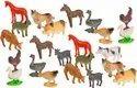 Plastic Mini Animal Toy