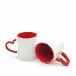 Heart Handel Sublimation Mug