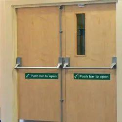 Double Door Panic Bar