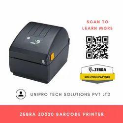 Zebra ZD220 4 203 DPI Thermal Transfer Desktop Printer