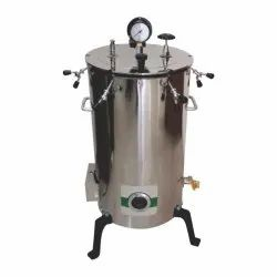 Double Walled Vertical Autoclave