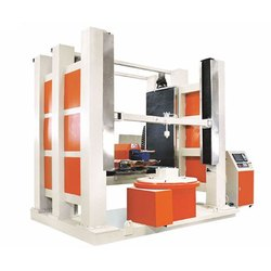 Large 3D Stone Cutting & Engraving CNC Router Machine ( 4 Axis)