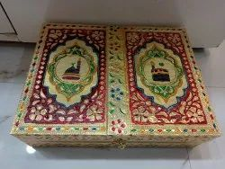 White Wooden Holy Quran Stand & Book Holder, For Promotional