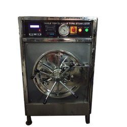Stainless Steel Horizontal Class B Table Top Autoclaves