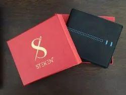 Steken Leather Men Wallet, Card Slots: 9, 2