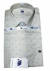Wesgopan Cotton Collar Neck Printed Shirt