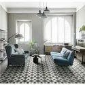 Square Athangudi Ceramic Floor Tiles, For Flooring, Size: 12 X 12 Inch