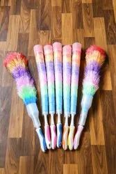 Feather Brush With Cap Holder