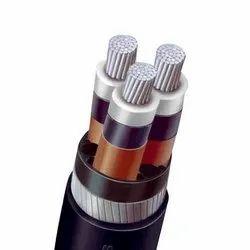 polycab 4c X25sq Mm Al Xlpe Cable, 4 Core