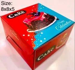 Printed Corrugated Cake Box