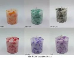 Arm-58 Marble Candle