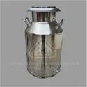 Milk Can Stainless Steel Cap 40 LTR