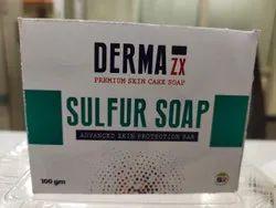 Derma ZX Pleasant Sulphur Soap, For Bathing, 100 Gms