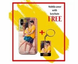 Photo Printed Customized Mobile Cover With Keychain