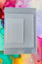 Silicone Notebook Cover Resin Mold - Set Of 3 - A4,A5,A6