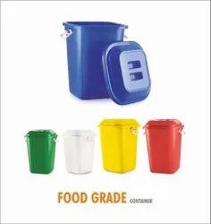 Plastic Manual Jigo Drum 80 Ltr With Lid Unbreakable Virgin Home Hospital Office Etc