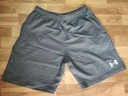Plain Basic Karera Fabric Shorts